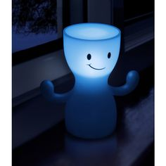The Glo Boy Solar Night Light with his bright light will cut back on your electricity bill using this awesome light! Placing him in the sun to charge then in return he will provide you a smoothing glow in the night!