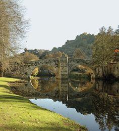 Puente medieval de Vilanova. Allariz