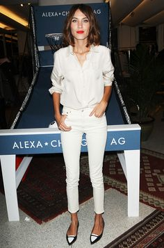 9 Things Alexa Chung Taught Us About Denim via @WhoWhatWearUK
