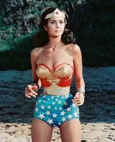 linda carters wonder woman Skirt outfit - Google Search