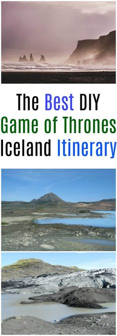 The best Game of Thrones Iceland DIY Itinerary for planning your trip. If you want to visit the Game of Thrones locations in Iceland without paying for a tour this travel guide takes you to all the famous spots as well as some can't miss places to visit in Iceland too #Iceland #GameofThrones #traveltips #travelhacks