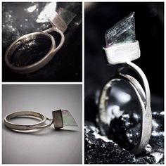 #inspiration, #rings, #silver, #fluorite, #handmade, #fashion, #minimal, #beauty, #jewelry, #jewelrydesign, #contemporaryart, #outfit
