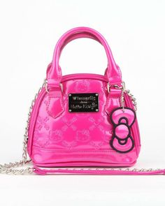 Passionate about pink! Petite #Loungefly x #HelloKitty micro bag