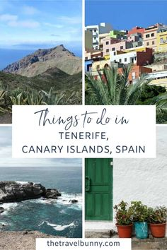 A guide to visiting Tenerife in the Canary Islands, Spain. With fabulous beaches, unique landscapes, UNESCO sites, authentic villages and wonderful food and drink find out everything you need to plan a wonderful trip to Tenerife. #Spain #Tenerife #Travel Europe Travel Guide, Spain Travel, Travel Destinations, Portugal Travel, Travel Tips, Backpacking Europe, Travel Guides, Spain And Portugal, Canary Islands