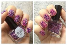Ciaté Caviar Manicure - Calendrier de l'Avent - Mini Mani Month - day 4 - Prom Queen - Embellish 3D Nails battle comparaison