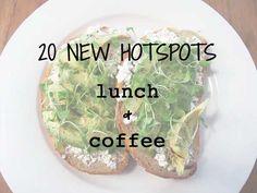 20 nieuwe lunch en koffie hotspots in Amsterdam | http://www.yourlittleblackbook.me/nl/nieuwe-hotspots-koffie-lunch-amsterdam/