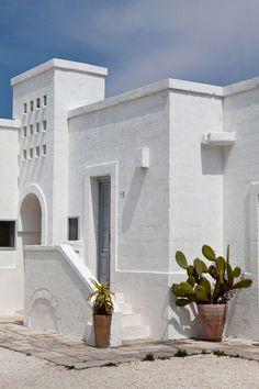 Masseria Cimino, Puglia, Italy. An 18th C farmhouse converted into an hotel.