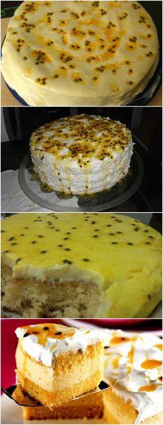 BOLO DE MARACUJÁ… PRÁTICO E GOSTOSO ❤️ VEJA AQUI>>>Pré-aqueça o forno a 180° e unte uma assadeira de furo no meio, com margarina e farinha de trigo No liquidificador, misture os ovos, o açúcar, #receita#bolo#torta#doce#sobremesa#aniversario#pudim#mousse#pave#Cheesecake#chocolate#confeitaria