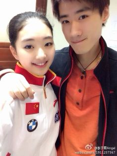 with Nan Song.from official weibo.