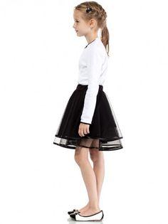 fabb987a2eed Dětská elegantní sukně KIDIN - černá