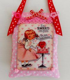 Valentine's lavender Sachet by picocrafts on Etsy, $7.80