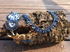 Ágata - 51.CRISTINA ( Blue ) - hecho a mano por DelikaElite en DaWanda