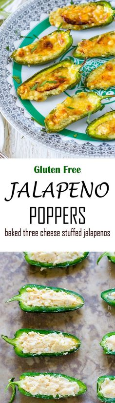 Baked Jalapeno Poppers Recipe is This recipe for Jalapeno Poppers – cream cheese, cheddar and feta stuffed jalapeno bites will take you on a fun adventure of an all-time favorite bar food, from comfort of your own home! Gluten free, not fried but baked Jalapeno Poppers are a must try for any jalapeno and cheese lover! Last minute Easter Brunch appetizer!