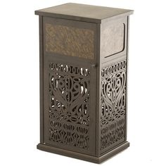 Indoor Elegance Meets Outdoor Function with The Tuscany Trash Can by Hanamint