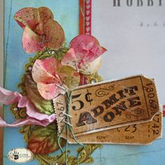 Tuesday Tutorial: Cloud Punch Posies