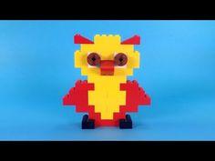 How To Make Lego OWL - 10664 Lego Bricks and More Creative Tower Tutorial - YouTube