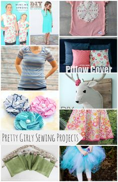 Pretty Girly Sewing Projects