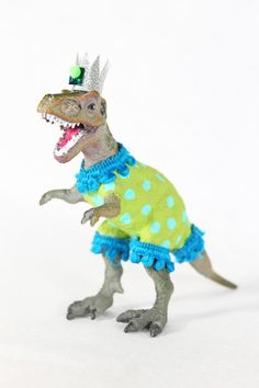 Party Dinosaur Brad  painted birthday and room by PaintedParade, $15.00