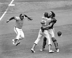 This was after the final out of the 1972 World Series against Cincinnati.
