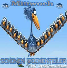 McK Mittwoch´s GB Vogel mit BBCode Animiert  bein  http://mckrampi.jimdo.com/g%C3%A4stebuchbilder-jappy-bildergalarie/jappy-gb-bilder/mittwoch/