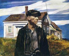 "Andrew Wyeth, ""Charlie Ervine"" - 1937"