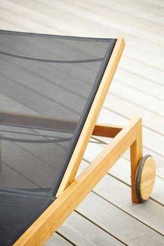 Jan Kurtz Teak Sonnenliege Sonoma kaufen im borono Online Shop