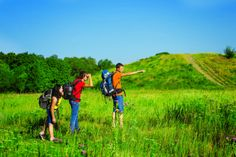 """Stay on the trail when day hiking with kids. Read more tips for day hiking with children in """"Hikes with Tykes: A Practical Guide to Day Hiking with Kids."""""""