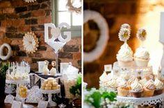 Decoração rústica e chique para um mini wedding