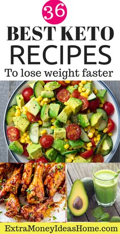 36 Easy keto recipes for faster weight loss. Zero carb foods. The best keto recipes for faster weight loss. The ultimate keto diet recipes for beginners #keto #ketogenic #ketodiet #ketorecipes #lowcarb #recipes #healthy #yummy #weightloss #loseweight