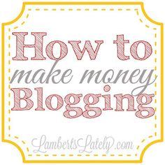 I'm sharing a few tips on how I make money blogging today, including what services I use on the blog!