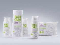 PapaCare baby cosmetics by Julia Zhdanova, by Depot WPF