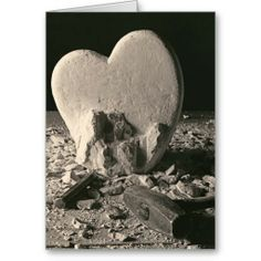Heart of Stone WWW.ZAZZLE.COM Still life of a sculptors studio with a Heart being carved from stone. For that Love of your Life, or that one that got away! Large format Black & White photograph sculpted & photographed by Paul Ashby c1978 & c2014.