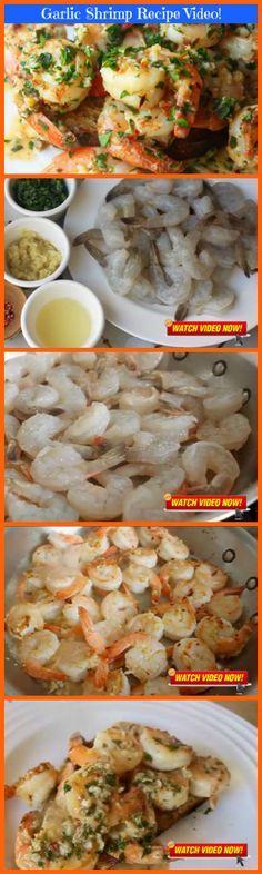 [RECIPE VIDEO ALERT] - Easy Garlic Shrimp!