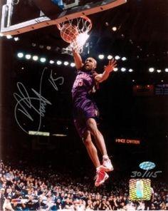 Vince Carter Autographed 8x10 Photograph #SportsMemorabilia #TorontoRaptors