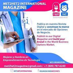 Estás en el área de Salud y quieres impulsar tus Servicios o tu Clínica/Consultorio a nivel internacional?  Sigue y entérate junto a:  @met2het2international  @met2het2international @met2het2international. .  #publiciudadmcy #revistadigital #publicidad #rd #republicadominicana #magazine #negocios #emprendedores #startup  #puertorico #panama #colombia #mexico #españa #honduras #chile #argentina #ecuador #peru #miami #tampa #chicago #venezuela