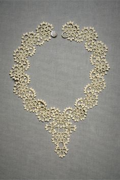 Queen Anne's Lace Necklace <3