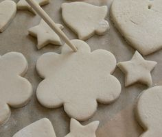 How to make salt dough Christmas decorations | MIAMI
