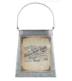 Buttercream™ Cosette Collection Metal Wall Pocket-Ville de Saint Denis