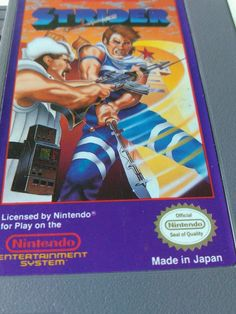 Strider Nintendo Game NES 1985 Vintage Game