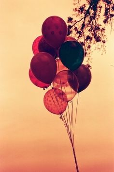 #balloons in the air #still air