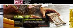 Culinary Research and Education Academy (CREA) / Interactive Web Design / Digital Agency: HZDG #Design #Branding #HZDG #Cuisine