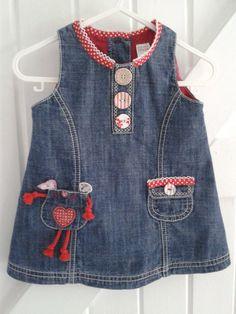 Baby Blues 'Red Mouse' Dress £7.50 See https://folksy.com/shops/sldelaney
