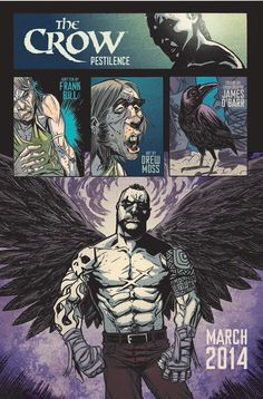 IDW Publishing to Resurrect The Crow Comic Book in 2014