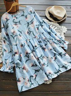 Cupshe Lying in Flowers Casual Dress