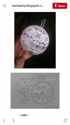 - Top-Trends - Her Crochet Christmas Tree Baubles, 3d Christmas, Crochet Christmas Ornaments, Christmas Crochet Patterns, Christmas Crafts For Gifts, Crochet Snowflake Pattern, Crochet Flower Tutorial, Crochet Snowflakes, Crochet Flowers