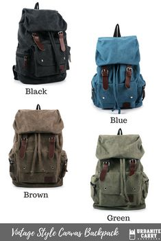 f019c5c5d8 Our vintage style canvas backpack is great for travel and everyday use. Look  fashionable everywhere
