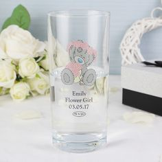 Me To You Wedding Hi Ball Glass | Bridesmaid & Flower Girl Gifts