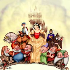 Walt Disney's Snow White by *snowsowhite on deviantART