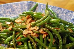 Barely Cooked String Beans