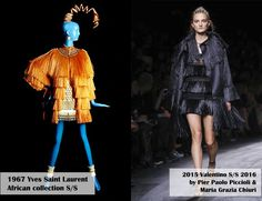 MARTIRIO'S WAY: IT'S NOT THE SAME BUT IT'S THE SAME. AFRICA, YSL & VALENTINO
